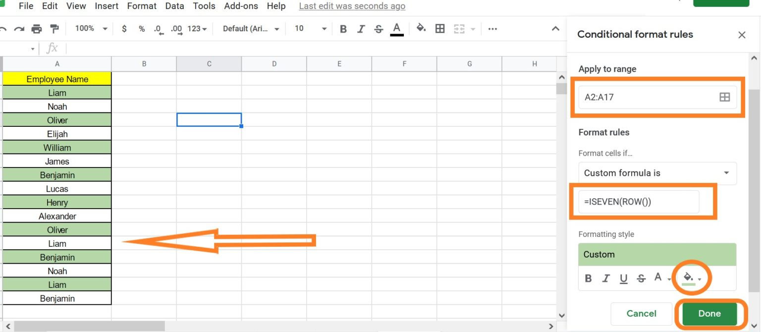 How-to-Color-Alternate-Rows-in-Google-Sheets