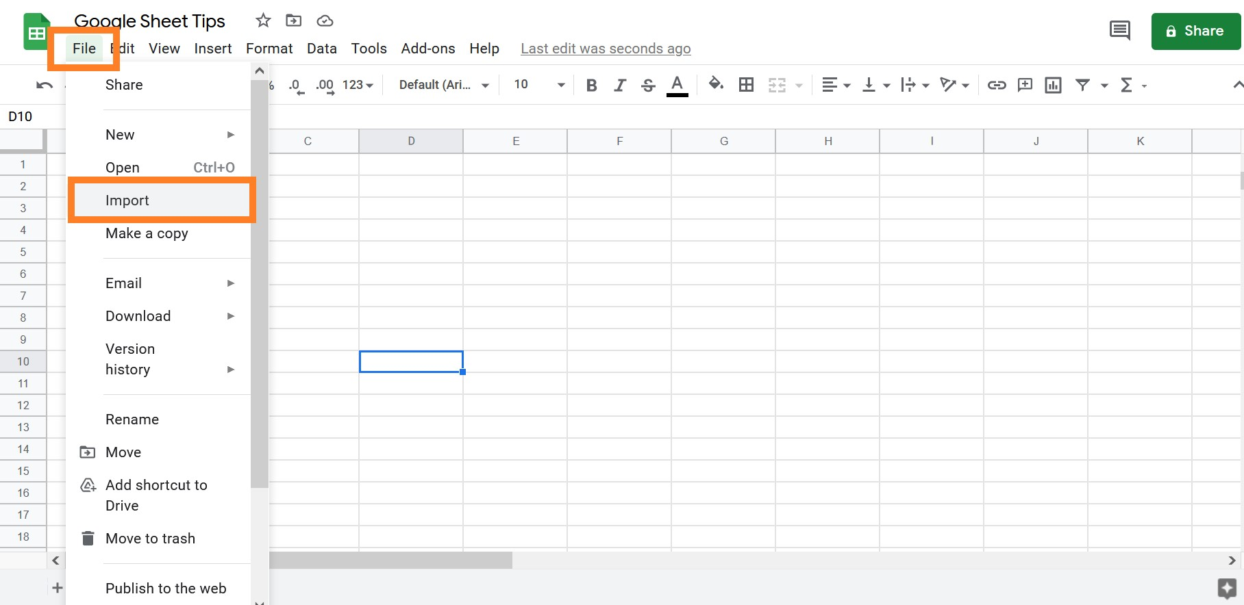 excel sheets to google sheets