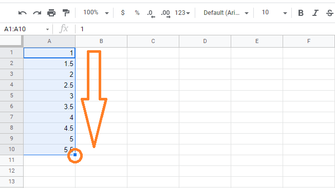 fill-handle-google-sheets