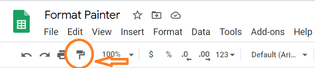 Format-Painter-icon-in-toolbar