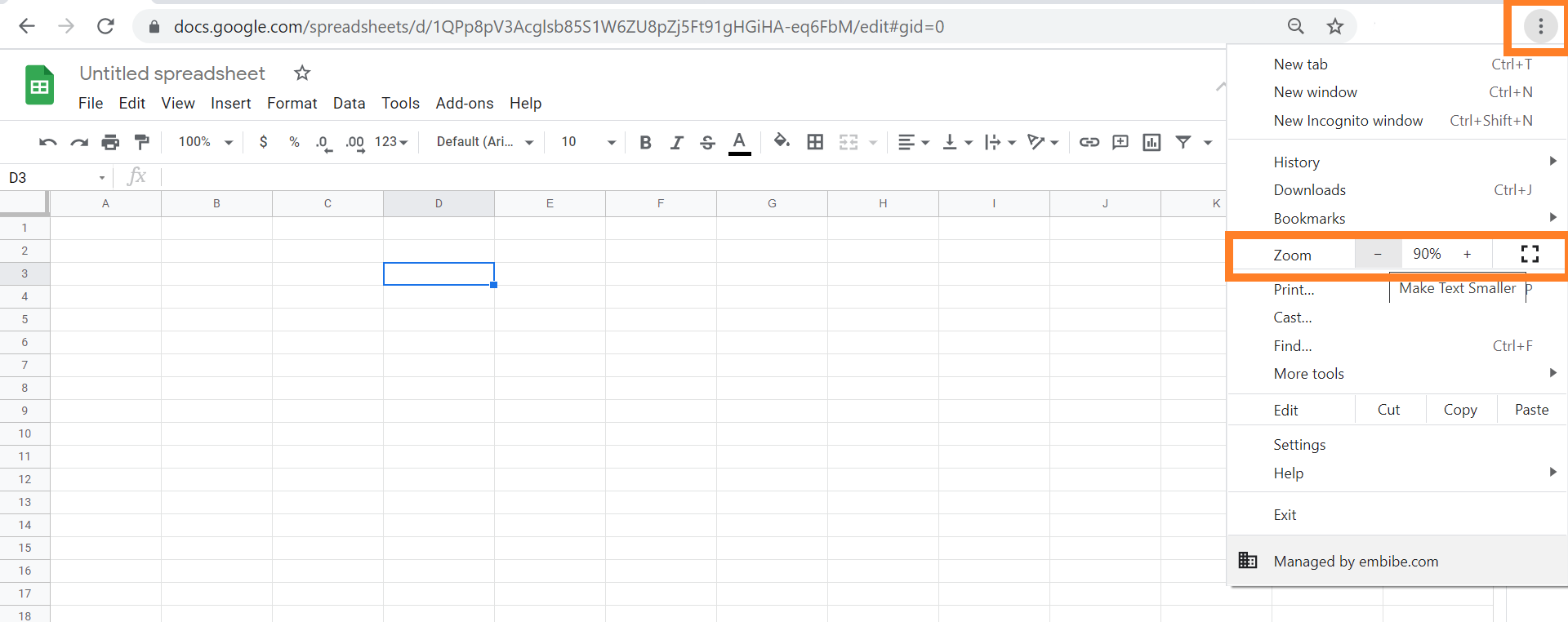 zoom-google-sheets
