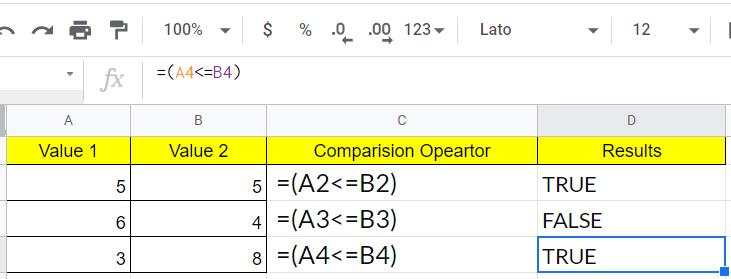 comparison-operators-google-sheets