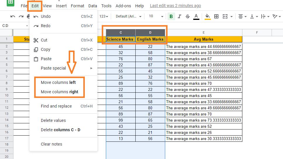 move-column-in-google-sheets1