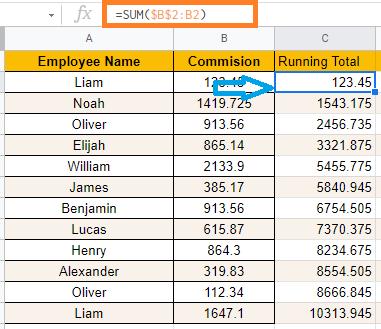 running-totals-google-sheets