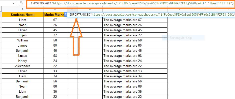 hide columns in google sheets6
