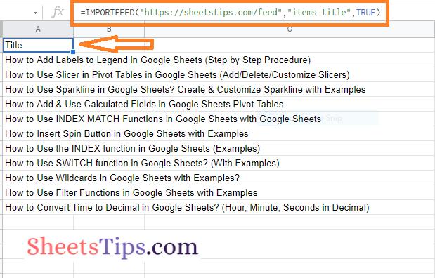 importfeed-google-sheets