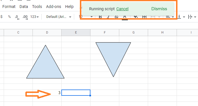 spin button in google sheets