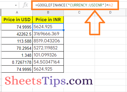 how-to-convert-currency-in-google-sheets